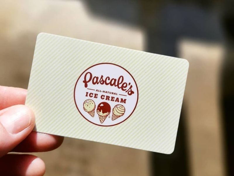 Pascale's gift cards