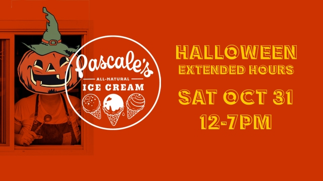 Hallowe'en at Pascale's Ice Cream!